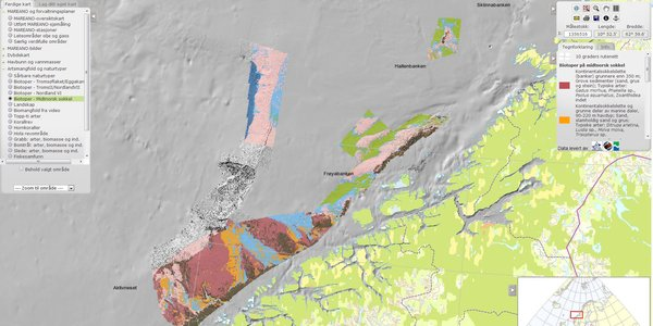 Biotopes of the mid-Norwegian continental shelf revealed by MAREANO