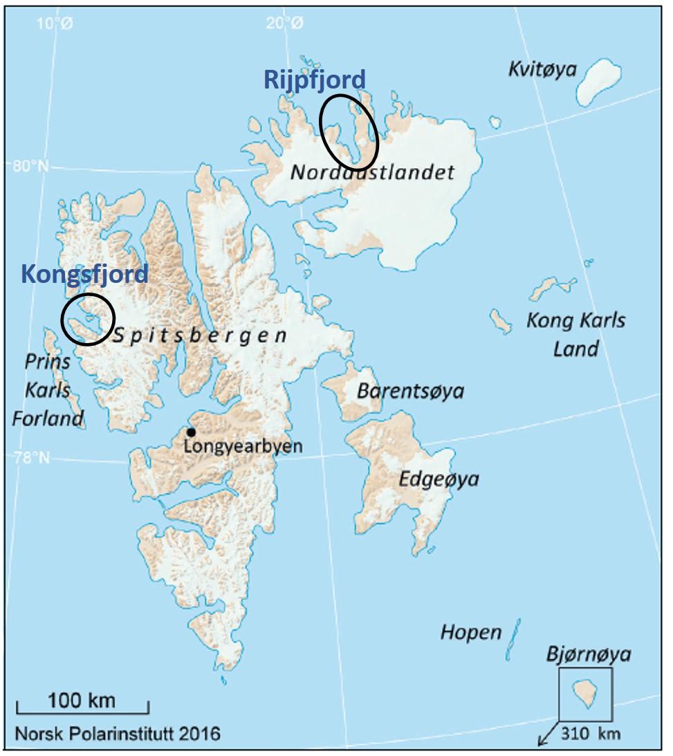 Mareano Kurser Mot Svalbard Mareano Samler Kunnskap Om Havet